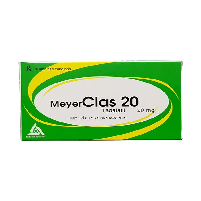 Thuốc cường dương MeyerClas 20mg, Hộp 1 viên