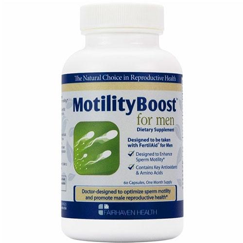 MotilityBoost for Men nâng cao chất lượng tinh trùng