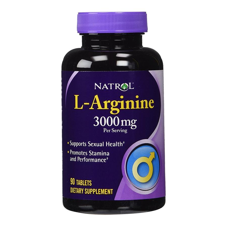 Natrol L-Arginine 3000mg tăng cường sinh lý phái mạnh ( HẾT HÀNG)
