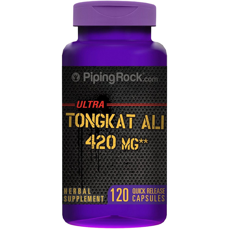 Pipingrock Tongkat Ali 420mg giúp cải thiện khả năng sinh lý của nam giới