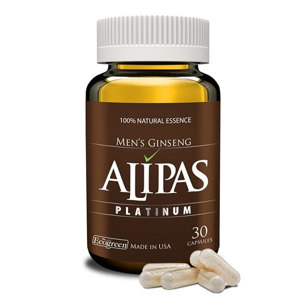 Sâm Alipas Platinum tăng cường sinh lực phái mạnh