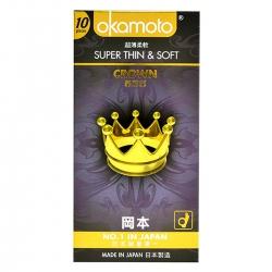Bao Cao Su Okamoto Crown, Hộp 10 Cái