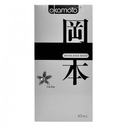 Bao Cao Su OKAMOTO Hương VANILLA, Hộp 10 Cái