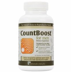 CountBoost for Men tăng cường số lượng tinh trùng ở nam giới