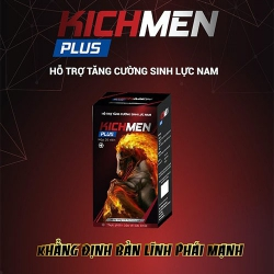 Kichmen Plus tăng cường sinh lý nam mạnh mẽ (Chai 30 viên)