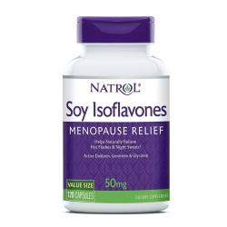 Natrol Soy Isoflavone bổ sung Estrogen từ thảo mộc 50mg 120 Viên