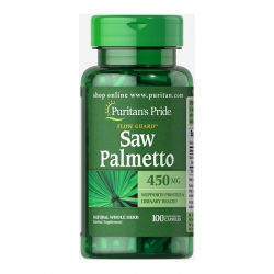 Puritan's Pride Saw Palmetto 450mg, Chai 100 viên