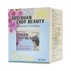 Sức Xuân Lady Beauty Kingphar | Hộp 60 viên