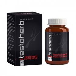 Testoherb tăng cường sinh lý, tăng chất lượng tinh trùng (Hộp 30 viên)