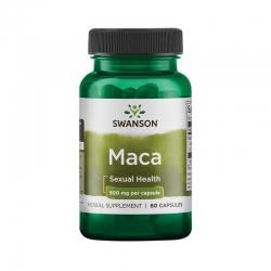Thực phẩm bảo vệ sức khỏe Swanson Maca 500mg, Chai 60 viên