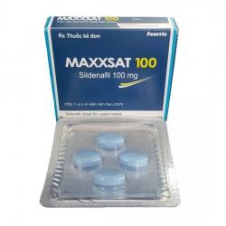 Thuốc cường dương MAXXSAT 100 - Sildenafil 100mg