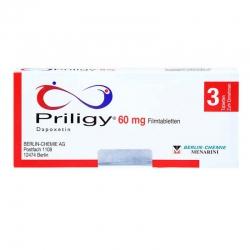 Thuốc trị xuất tinh sớm Priligy 60mg, Hộp 3 viên