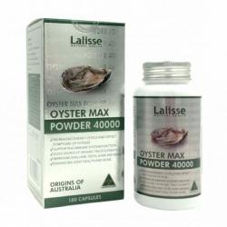 Tinh chất hàu nhân sâm Lalisse Oyster Max Powder 40000mg, Hộp 100 viên