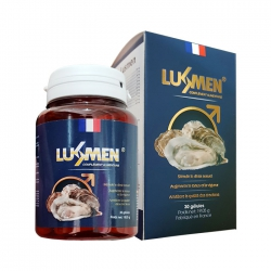 Tpbvsk tinh chất hàu LusMen, Hộp 30 viên