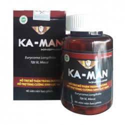 Tpbvsk tăng cường sinh lý nam Ka-Man Kingphar, Hộp 40 viên