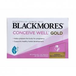 Tpbvsk tăng khả năng thụ thai Blackmores Conceive Well Gold