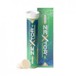 Tpbvsk Zextor giúp tăng cường sức khỏe sinh lý nam XANH, Hộp 20 viên