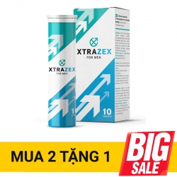 Viên sủi Xtrazex tăng cường ham muốn sinh lý nam mạnh mẽ