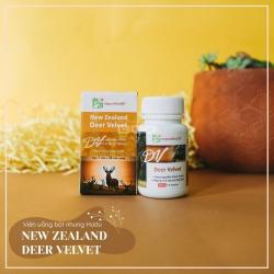 Viên uống Nhung Hươu NewZealand NZPure Deer Velvet