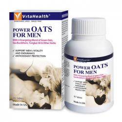 Vitahealth Power Oats For Men, Hộp 30 viên