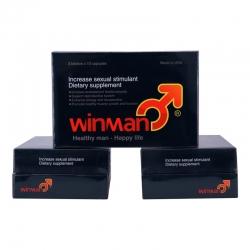 WinMan bổ sung Testosterone tăng cường khả năng sinh lý cho phái mạnh