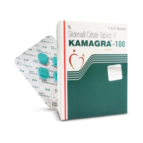 Thuốc cường dương Kamagra 100mg - Hộp 04 viên