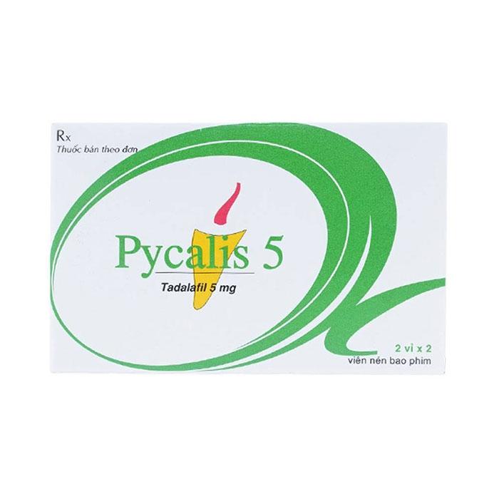 Thuốc cường dương Pycalis 5mg, Hộp 2 viên ( HẾT HÀNG)