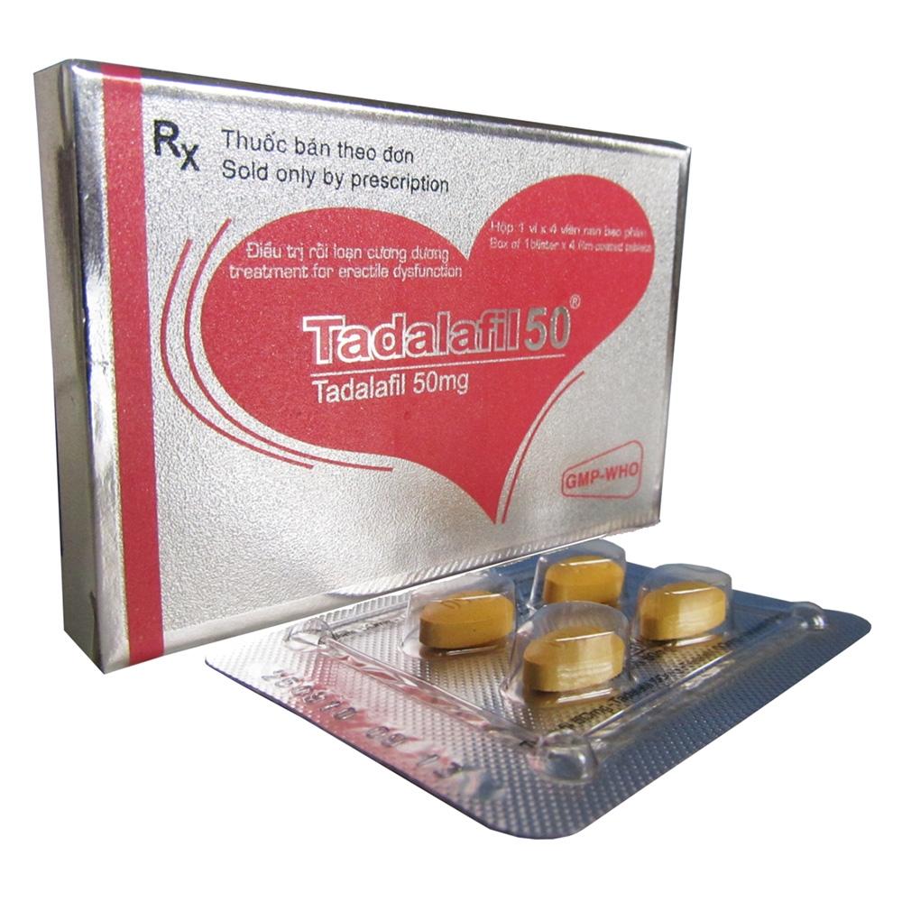 Thuốc cương dương Tadalafil 50mg