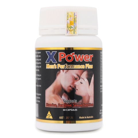 X Power Men Performance Plus Golden Health tăng cường sinh lý nam ( HÉT HÀNG)